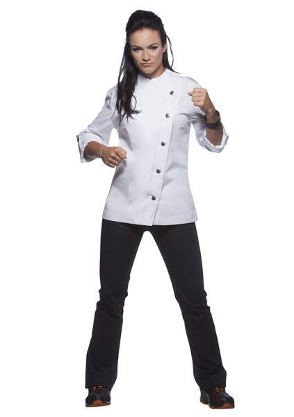 Damenkochjacke Rock Chef White