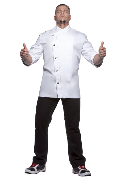Kochjacke Rock Chef White