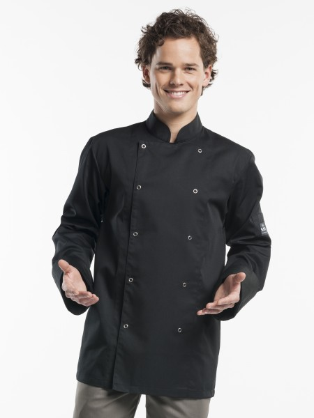Kochjacke Poco Black